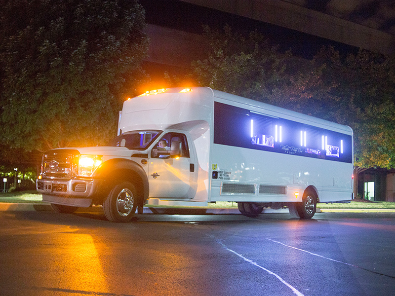 Using Different Accents on a Party Bus